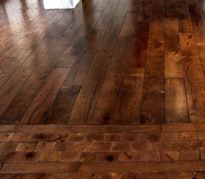 Mesquite Flooring End Grain