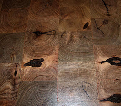 Mesquite End-Grain Flooring