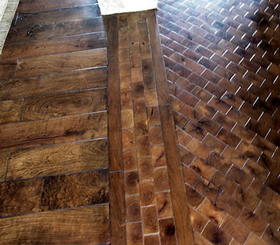 Mesquite Hardwood Strip Flooring